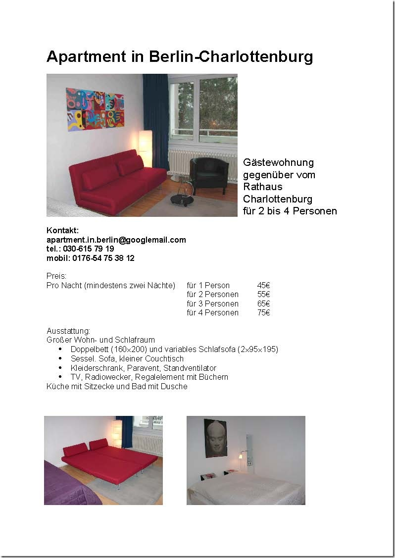 Apartment in Charlottenburg